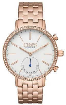 Chaps Whitney Crystal Bracelet Hybrid Smart Watch, 40mm