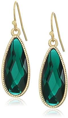 1928 Jewelry Gold-Tone Elongated Teardrop Earrings