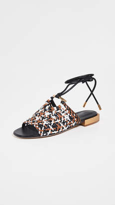 0cf9d76329b Salvatore Ferragamo Brown Women s Sandals - ShopStyle