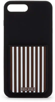 Henri Bendel Centennial Stripe Pocket Case For Iphone 7/8+