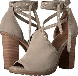 Frye Women's Suzie Pickstitch Lug Heeled Sandal