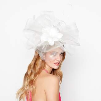 Debut Ivory Flower Crown Fascinator