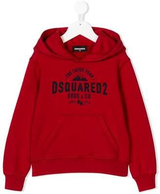 DSQUARED2 (ディースクエアード) - Dsquared2 Kids logo print hoodie