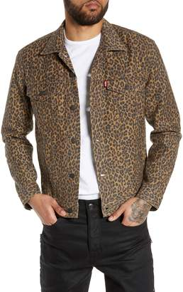 Levi's Cheetah Print Trucker Jacket