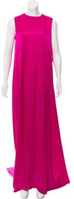 Maison Rabih Kayrouz Silk Maxi Dress w/ Tags