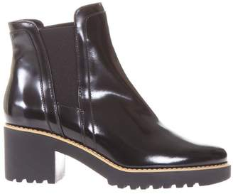 Hogan Leather Ankle Boots H277