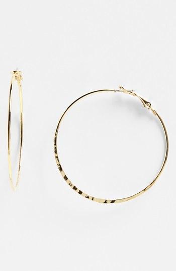 BP. Rachel Large Hoop Earrings