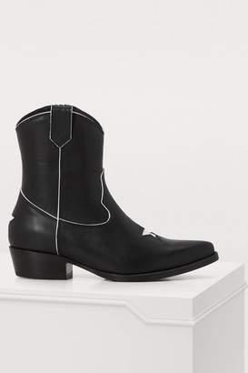 Anine Bing Elton western boots