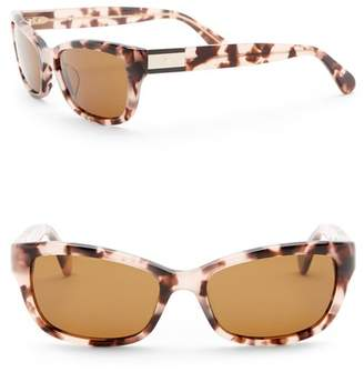 Kate Spade Marilee 53mm Rectangle Sunglasses