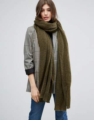 Asos Design Oversized Long Knit Scarf