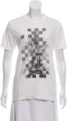 Marc Jacobs Short Sleeve Graphic Printed T-Shirt