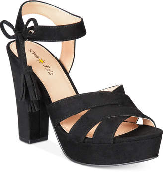 Seven Dials Naomi Platform Block-Heel Sandals Women's Shoes