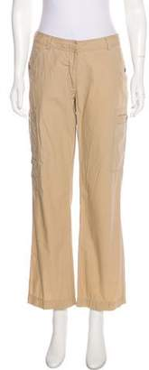 Calvin Klein Mid-Rise Straight-Leg Pants