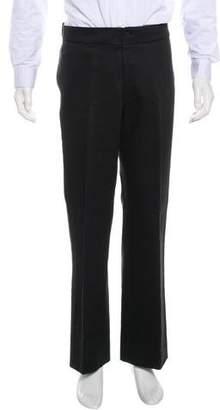 Maison Margiela Flat Front Twill Pants