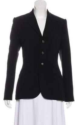 Ralph Lauren Black Label Wool Woven Blazer