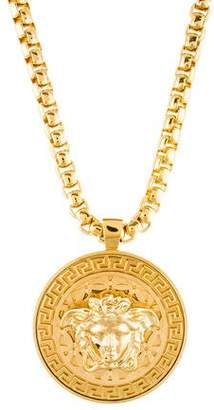 Versace Medusa Pendant Necklace w/ Tags
