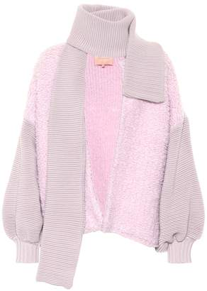 Roksanda Devyn wool-blend cardigan