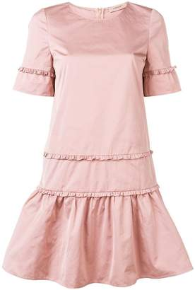 Twin-Set flared shortsleeved dress