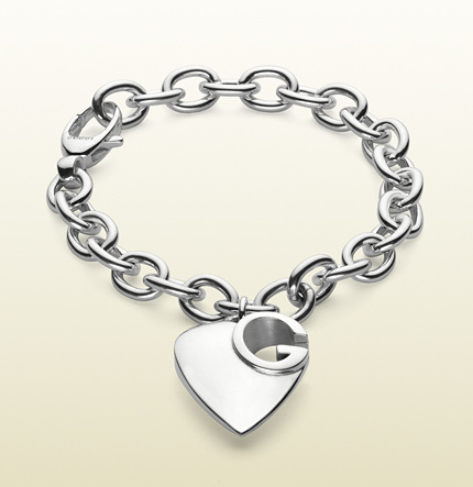 Gucci Bracelet With Heart Charm