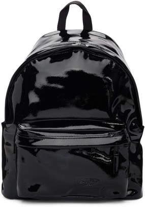 Eastpak Black Patent Padded Pakr Backpack