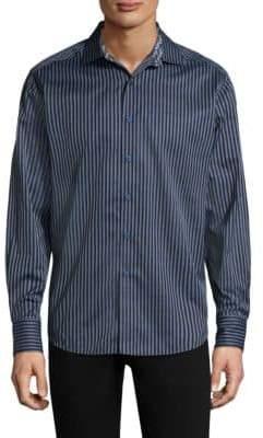 Robert Graham Marion Cotton Casual Button-Down Shirt