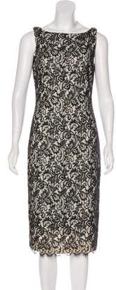 Michael Kors Sleeveless Lace Midi Dress