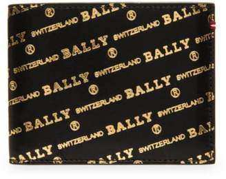 Bally Bevye Logo Leather Wallet