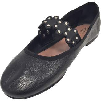 RED Valentino Leather ballet flats