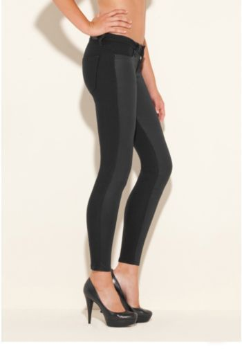 Biker Power Skinny Jeans with Rinse 4