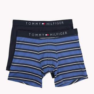 Tommy Hilfiger 2-Pack Stripe and Plain Boxer Briefs