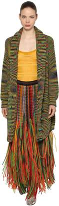 Missoni Oversized Wool Blend Knit Cardigan