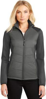 a9aa47de39 Port Authority® Ladies Hybrid Soft Shell Jacket. L787 L