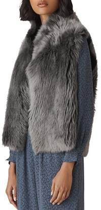 Whistles Reversible Shearling Vest