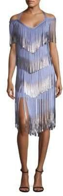 Herve Leger Off-The-Shoulder Dress