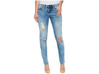 Blank NYC Skinny Classique Jeans in Medium Wash Blue Women's Jeans
