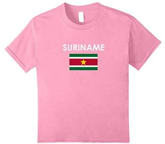 SURINAME Flag T Shirt for Surinamese loving Americans