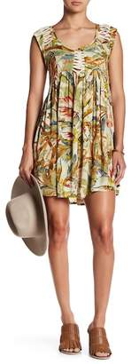 Raga Makiki Valley Cap Sleeve Mini Dress