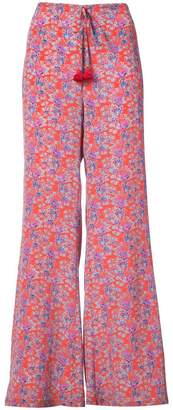 Figue Ipanema flora wide-legl trousers