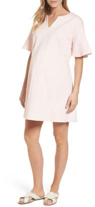 Isabella Oliver Reese Ponte Maternity Dress