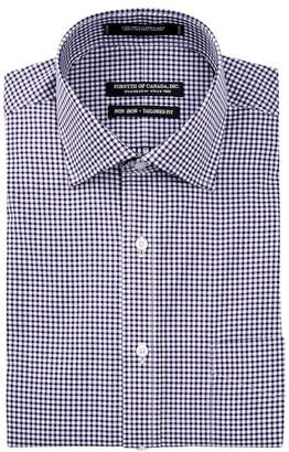 Peter Millar Kensington Spread Collar Tailored Fit Dress Shirt
