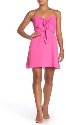 Socialite Sweetheart Double Tie Fit & Flare Dress