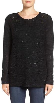 Women's Nydj Sequin Knit Tunic $98 thestylecure.com