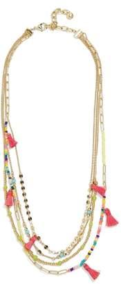 BaubleBar Rida Layered Chain Necklace
