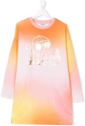 Kenzo TEEN tie dye tunic