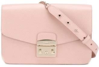 Furla studded strap shoulder bag