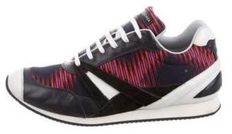 Balenciaga Round-Toe Low-Top Sneakers