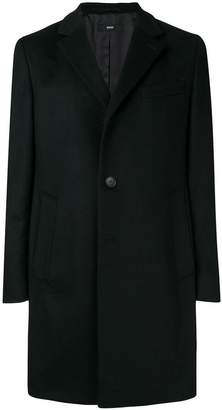 HUGO BOSS long sleeved overcoat