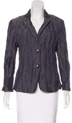Lafayette 148 Textured Long Sleeve Blazer