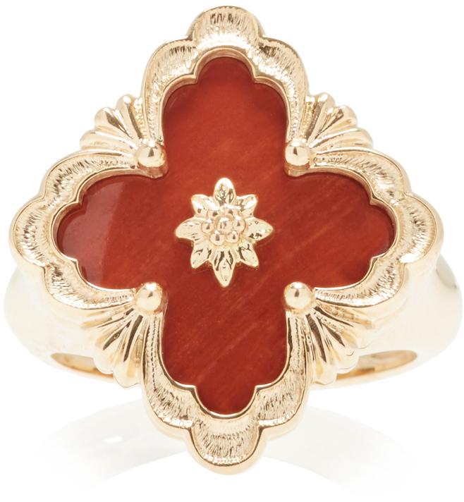 BuccellatiBuccellati Opera Red Jasper Ring