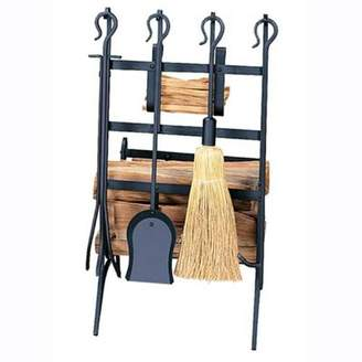 Uniflame 4 Piece Fireplace Tool Set
